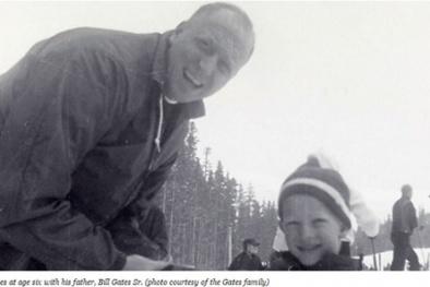 Cha của tỉ phú Bill Gates chia sẻ về việc dạy con
