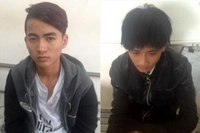 Hai 9X sống lang thang ở Hà Nội thít cổ lái xe taxi cướp tài sản