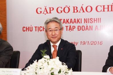 Chủ tịch Tập đoàn Ajinomoto: Việt Nam là thị trường trọng điểm của thực phẩm