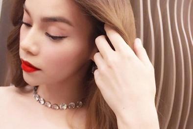 'Choáng' với phụ kiện kim cương trị giá tiền tỷ của Hồ Ngọc Hà