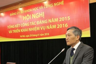 Đảng ủy Khối cơ quan TƯ tặng bằng khen cho 5 Đảng viên Bộ Khoa học và Công nghệ