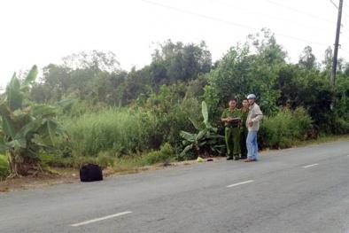 Táo tợn chặn xe chém người và cướp tài sản ngay trên quốc lộ