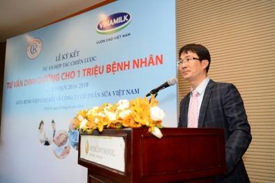 Vinamilk và BV Chợ Rẫy hợp tác tư vấn dinh dưỡng cho 1 triệu bệnh nhân
