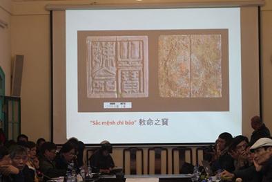 Khai, phát ấn ở Hoàng thành Thăng Long?