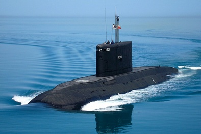 Tàu ngầm lớp Kilo của Nga: 'Hố đen đại dương' khiến NATO phải kiêng dè