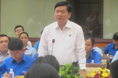 Bí thư Đinh La Thăng: 'Lãnh đạo TP đến, Giám đốc Sở vắng họp là thiếu nghiêm túc'