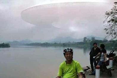 Xôn xao 'đĩa bay khổng lồ' xuất hiện trên bầu trời Thừa Thiên Huế