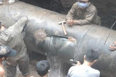 Hà Nội 'thúc' tiến độ đường ống nước sông Đà Trung Quốc thắng thầu