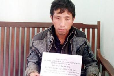Phó bí thư Chi bộ bản mang 3.400 viên ma túy từ Lào vào Việt Nam
