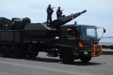 Indonesia dốc tiền tăng cường sức mạnh phòng không ở Biển Đông
