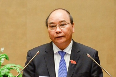 Ông Nguyễn Xuân Phúc trở thành Thủ tướng với 90,28 % số phiếu tán thành