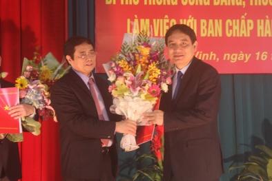 Bí thư Thứ nhất TW Đoàn giữ chức Bí thư Tỉnh ủy Nghệ An
