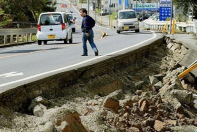 Nhật Bản oằn mình hứng chịu động đất, hơn 760 người thương vong