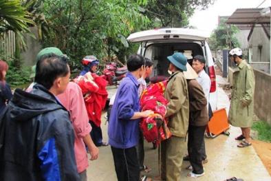 Tuyệt vọng đắp bùn ao cứu người đàn ông bị 'trời đánh' chết ở Nghệ An