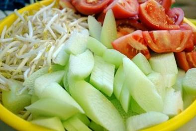 Nguy cơ bị gout, sưng khớp do ăn dọc mùng nấu canh chua
