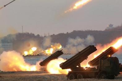 300 giàn phóng tên lửa của Triều Tiên chĩa thẳng vào biên giới Hàn Quốc