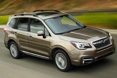 Chi tiết Subaru Forester 2017 bản nâng cấp thiết kế