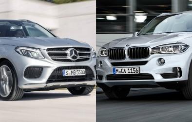 BMW X5 và Mercedes-Benz GLE 2016 tranh 'ngôi vương' dòng SUV hạng sang
