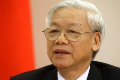 Tổng Bí thư Nguyễn Phú Trọng giữ chức Bí thư Quân ủy Trung ương