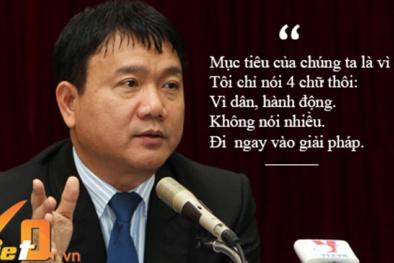 Những phát ngôn 'nức lòng dân' của bí thư Đinh La Thăng