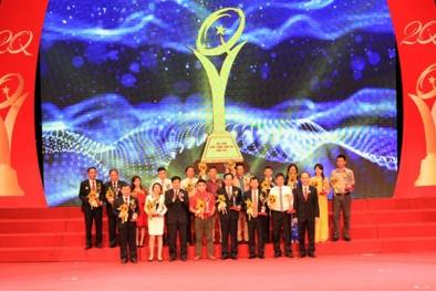 Công ty cổ phần Xây dựng Sóc Trăng nhận Giải thưởng Chất lượng Quốc gia 2015