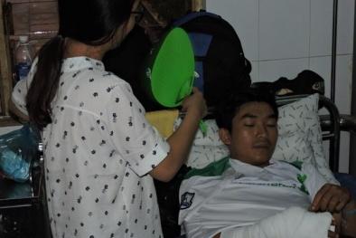 Tin pháp luật an ninh 24h qua: CSGT bị người vi phạm chém trọng thương
