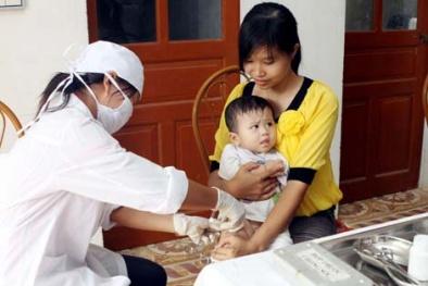 Tuyệt đối không tiêm chủng tại nhà