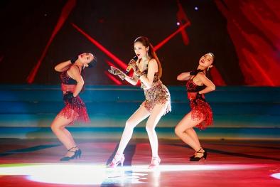 Ca sĩ Bảo Anh phải hủy diễn ca khúc mới vì sự cố tại Hoa hậu biển 2016