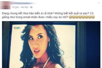 Rộ thông tin Phạm Thùy Trang đăng quang Hoa hậu biển đúng như tin nhắn nặc danh