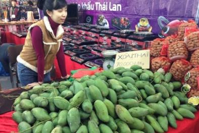 Đâu phải cứ xuất xứ từ Thái Lan là hoa quả 'sạch'