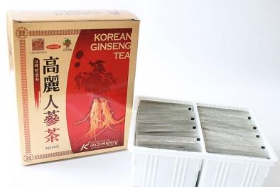 Korean ginseng Tea Korea không rõ nguồn gốc bị đưa vào 'tầm ngắm'