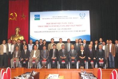 Các ưu tiên hợp tác giữa  IAEA và Việt Nam trong giai đoạn 2016 -2021