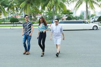 Bộ ba giám khảo của Vietnam Next Top Model 2016 xuất hiện 'chất lừ' tại Đà Nẵng