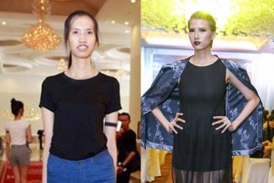 Quá trình lột xác 'không thể tin nổi' của Á quân Next Top Model Hồng Xuân