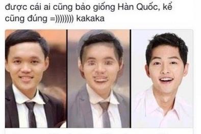 Trào lưu hot Facebook: 'Gương mặt bạn giống với người nổi tiếng nào?'