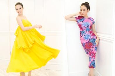 Angela Phương Trinh 'chơi trội', rực rỡ trong 4 thiết kế riêng của Đỗ Mạnh Cường