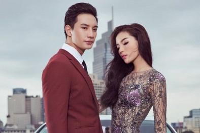 Hoa hậu Kỳ Duyên đẹp lộng lẫy, sánh vai bên nam vương Văn Sơn