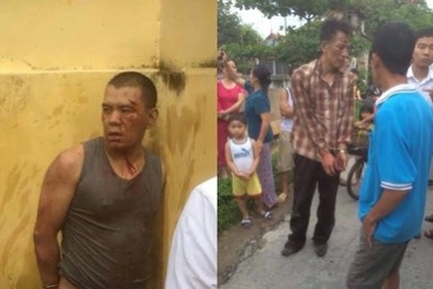 Hải Dương: Dân làng 'quây' đánh bầm dập hai kẻ trộm chó