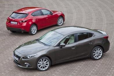 Triệu hồi và sửa chữa miễn phí 10.000 ô tô Mazda 3 dính lỗi 'cá vàng'