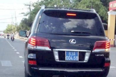 'Quan' tỉnh 'ăn chơi' toàn xài Lexus 570, dân nghèo là phải!