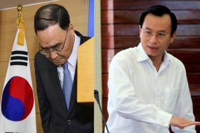 Thủ tướng Hàn Quốc từ chức và sự 'xấu hổ' của Bí thư Nguyễn Xuân Anh