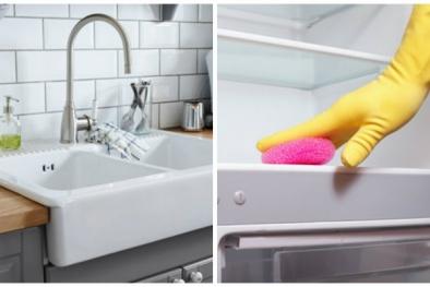 Những 'ổ bụi bẩn'  thường bị bỏ quên khi vệ sinh nhà cửa
