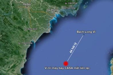 Phát hiện máy bay CASA rơi gần đảo Bạch Long Vĩ, chưa rõ số phận 9 nạn nhân