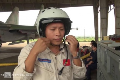 Nghẹn ngào dòng hồi ức về chân dung phi công Trần Quang Khải