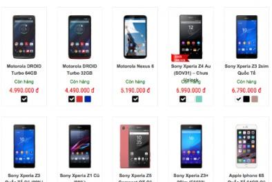 Smartphone cao cấp giá 'siêu rẻ' tràn ngập thị trường