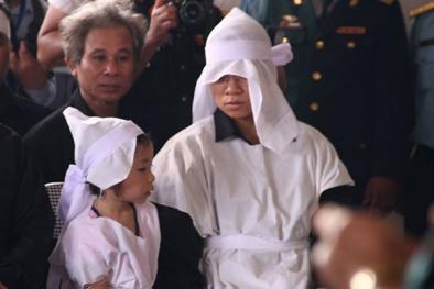 Dòng tâm sự mặn chát vị nước mắt của gia đình phi công Trần Quang Khải