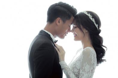 Trọn bộ ảnh cưới 'ngọt lịm' của cặp đôi Mạc Hồng Quân – Kỳ Hân