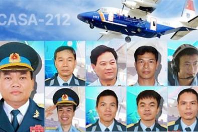 Chuẩn bị tổ chức lễ tang cho phi hành đoàn trên máy bay Casa-212