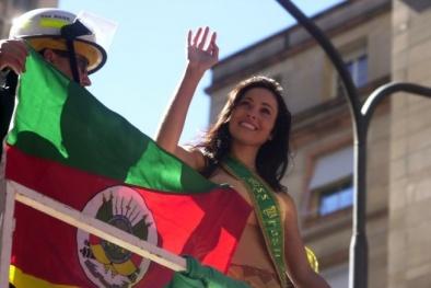 Cận cảnh nhan sắc 'ngọt lịm' của Hoa hậu Brazil vừa chết bí ẩn tại nhà riêng