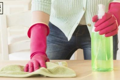 Bí kíp đơn giản giúp tiết kiệm thời gian vệ sinh nhà cửa
